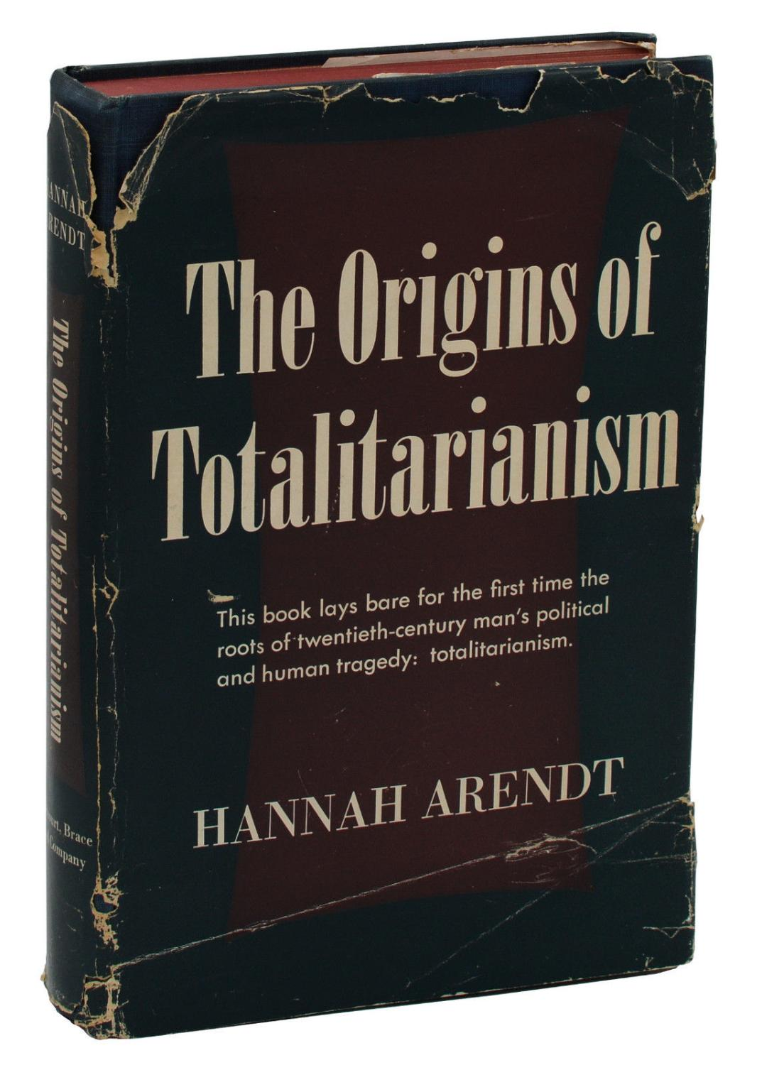 the origins of totalitarianism arendt pdf