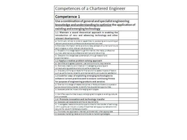 career episode report mechanical engineer pdf