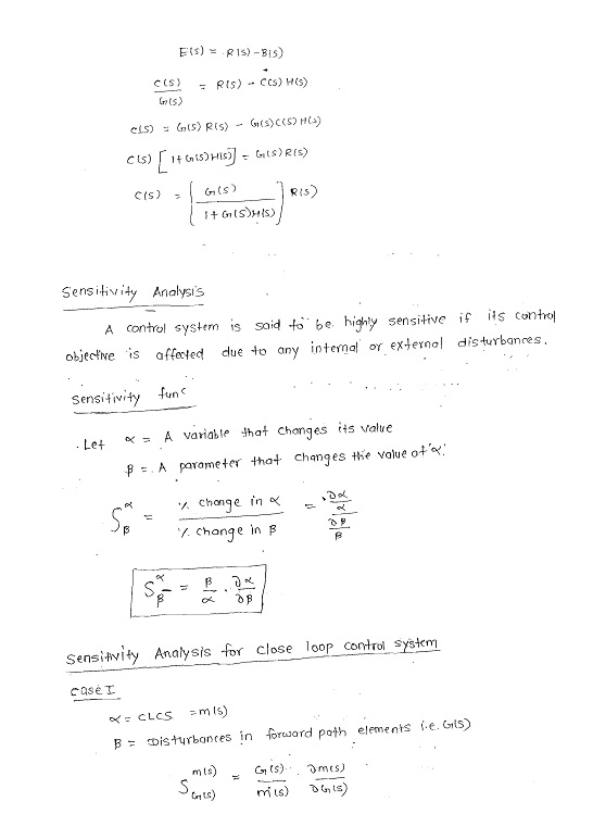 control system gate notes pdf