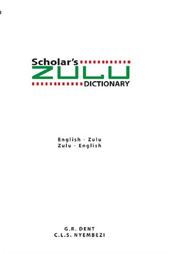 zulu to english dictionary pdf